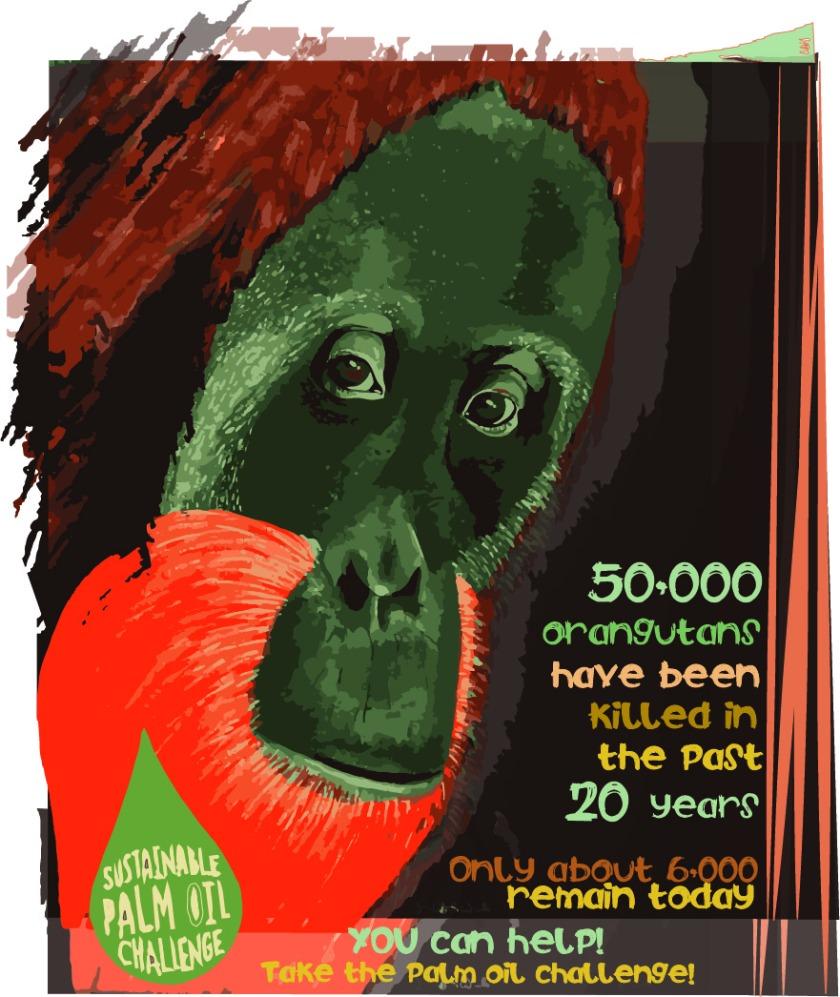 jackie woods orangutan design